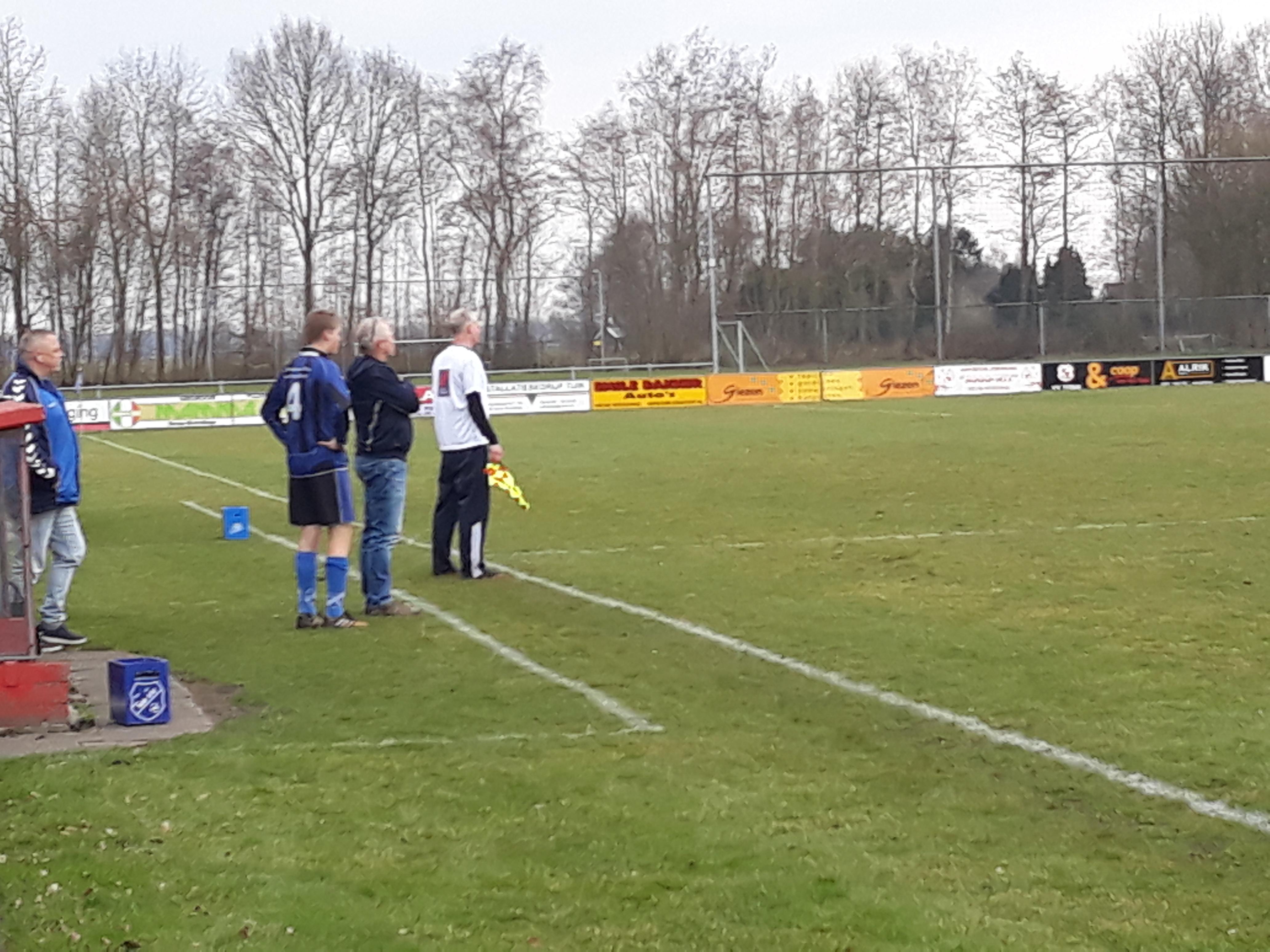 Martijn Sanders maakt debuut in NWVV1
