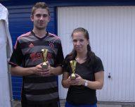 Roy Super en Debby Jaarsma de kampioenen latjetrap van NWVV