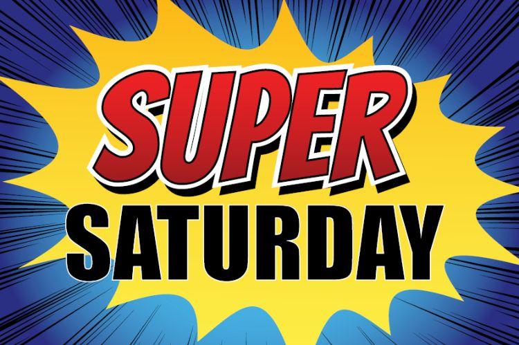 Super Saturday 7 maart met Jessy en Martin Sterken