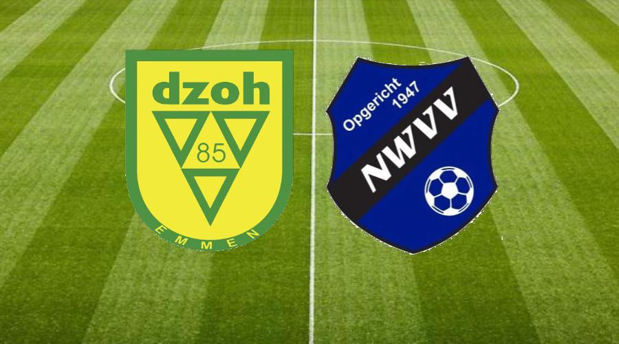 NWVV 1 oefent zaterdag tegen DZOH 2