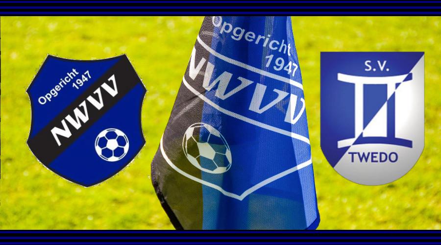 NWVV 2 – SV Twedo 2 ingehaald op zaterdag 16 oktober