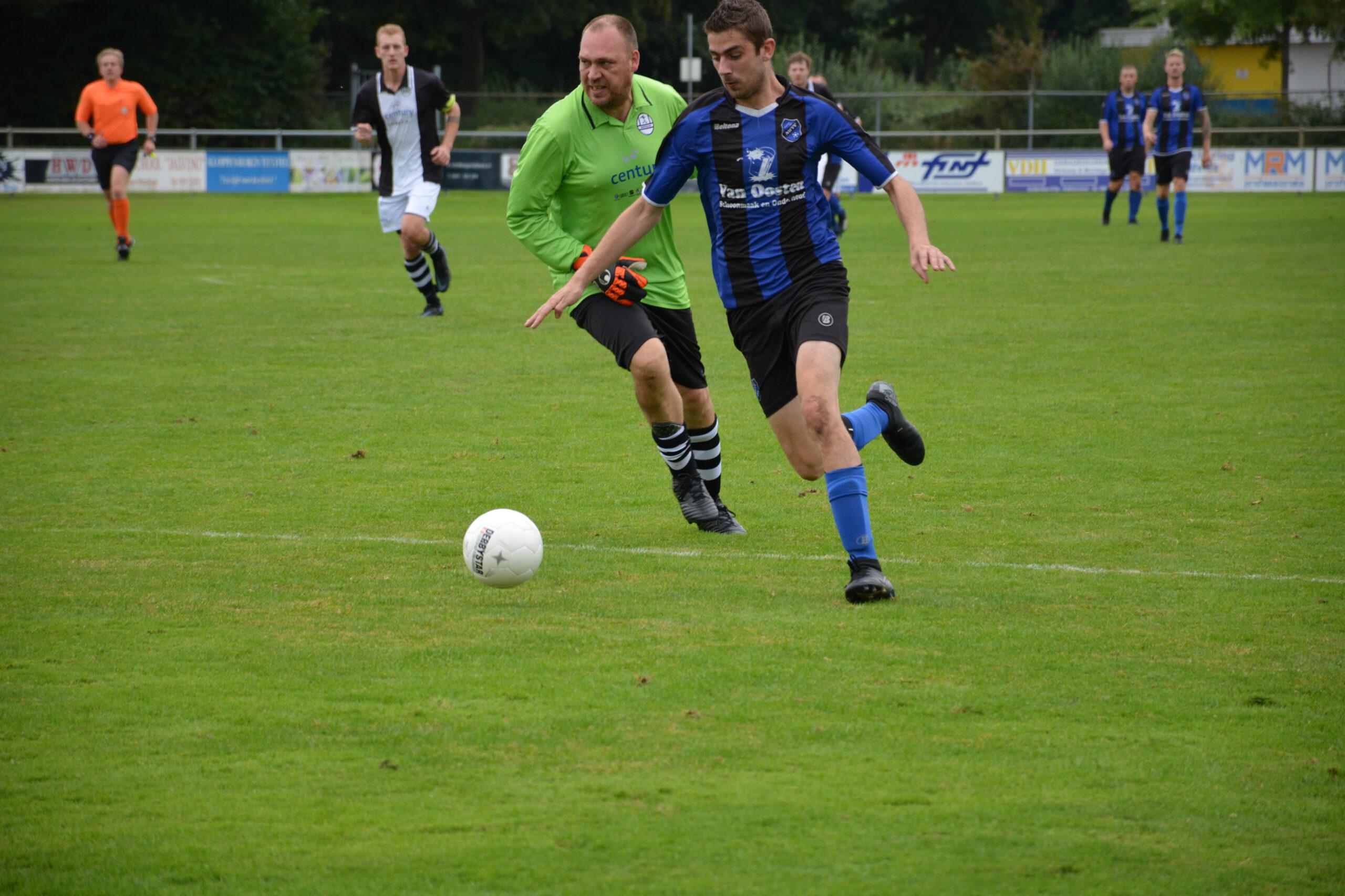 NWVV met 5-0 te sterk voor Muntendam